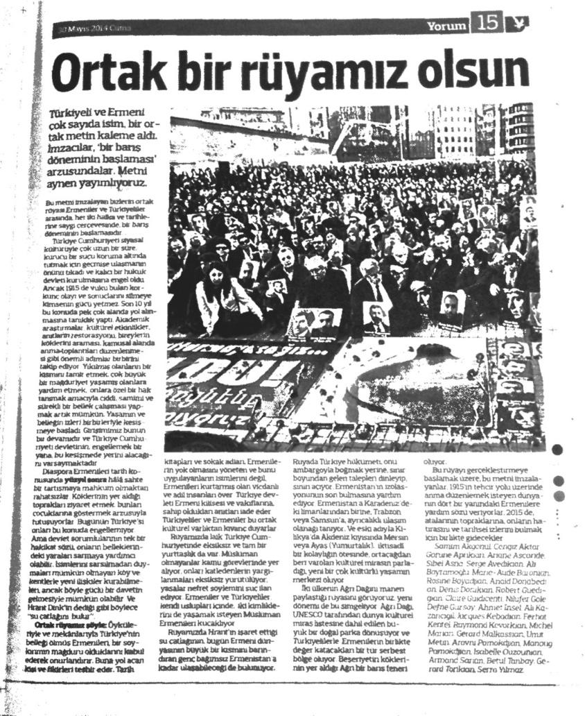Notre rêve dans Radikal