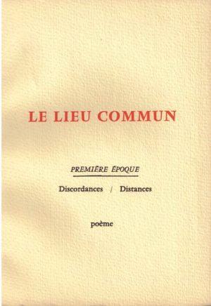 LIEU COMMUN