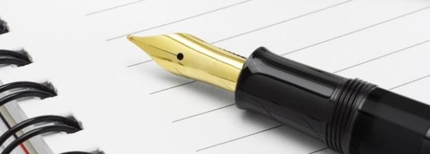 bloc-notes-et-stylo-plume