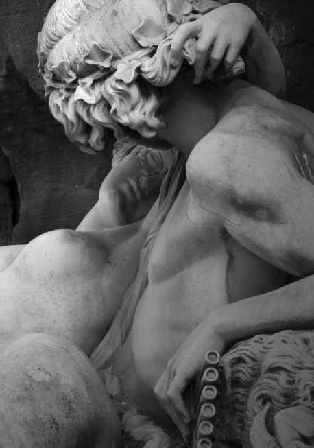 Auguste Ottin (Detail) Polyphemus Surprising Acis and Galatea,1866,the Fontaine Médicis.