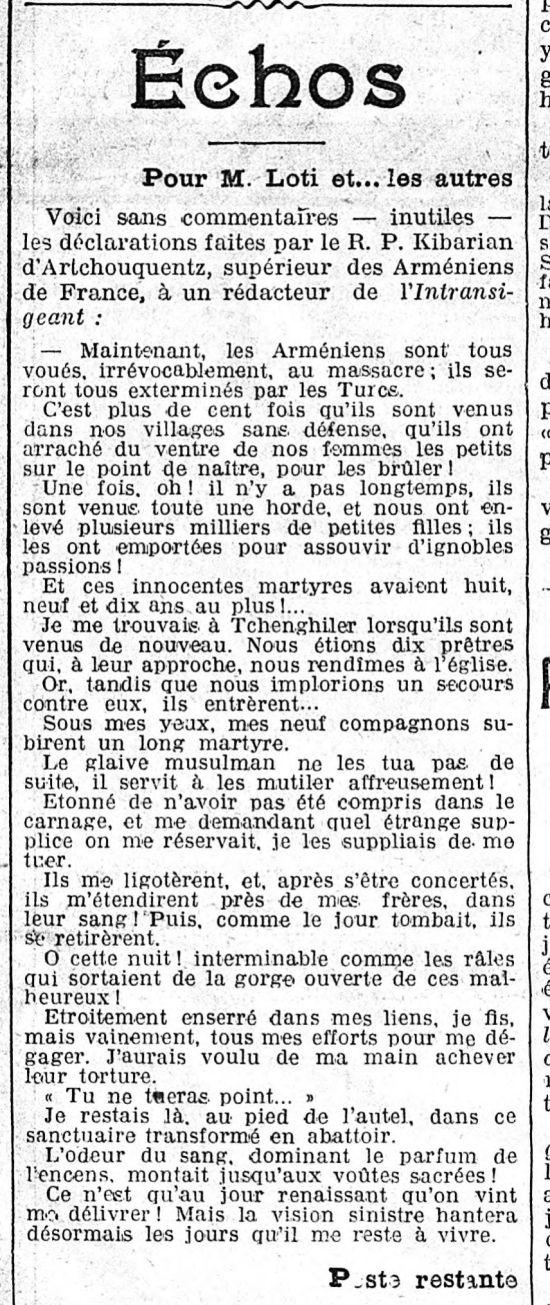 1912-11-14. L'Univers p. 1