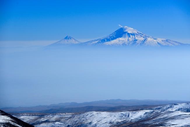 Ararat depuis mnt Aragats