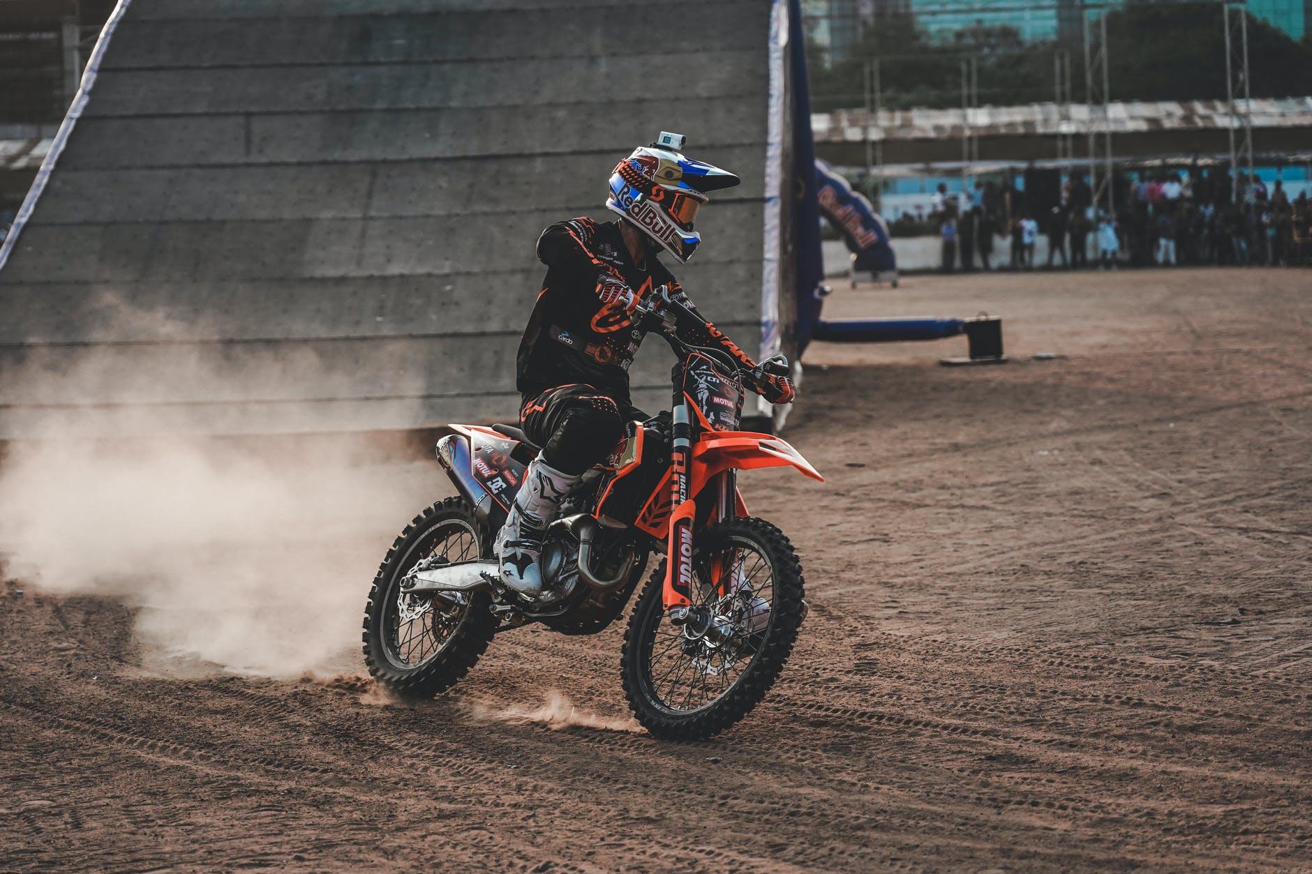 mouvement rapide moto vitesse